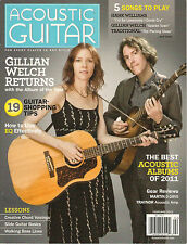 ACOUSTIC GUITAR February 2012 GILLIAN WELCH Scarlet Town Hank Williams TAB Lesso