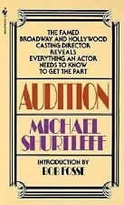 Audition by Michael Shurtleff (1979, Paperback)