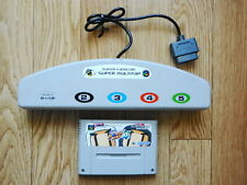 Nintendo Super Famicom Multi Tap SFC SNES Bomberman 4 Retro Video Game Japan