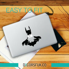 Batman sketch Macbook Stickers on black vinyl | Laptop stickers | stickers