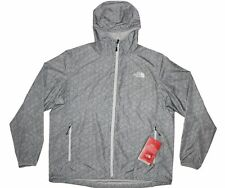 NWT The North Face Flyweight Hoodie X-Large High Rise Grey Hex Topo Print XL