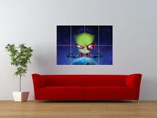 INVADER ZIM CARTOON KIDS TELEVISION GIANT ART PRINT PANEL POSTER NOR0042
