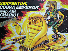 D1094551 SERPENTOR GI JOE MIB STYLE SEALED CONTENT COMPLETE VINTAGE