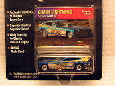 FUNNY CAR LEGENDS CHAIN LIGHTNING FORD MUSTANG II 1977 DRAGSTER JOHNNY LIGHTNING