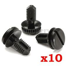 10x Interior Trim Clips Dash Battery Cover Boot Lining For BMW E30 E36 E46 E60