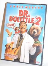 Dr. Dolittle 2 Eddie Murphy (DVD, 2009, Widescreen Version DVD) - Good