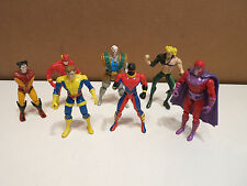VINTAGE Marvel, DC comics & Others Action Figures Mixed Lot SEE!