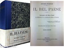 STOPPANI Il Belpaese 1883 Edizione anastatica del centenario 1991 STEFANONI