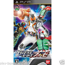 Used PSP Kamen Masked Rider Climax Heroes Fourze Japan Import