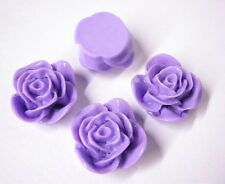 4pc 20mm Resin Flower Cabochon-5316