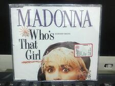 MADONNA Who's That Girl White Heat German YELLOW LABEL CD SEALED 7599 20692-2