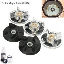 New 3 Plastic Gear Base & 2 Rubber Replacement For Magic Bullet Spare Parts