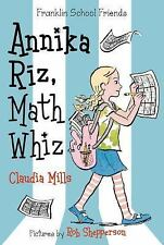 Annika Riz, Math Whiz (Franklin School Friends)-ExLibrary