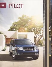2012 12 Honda Pilot Original Sales Brochure