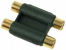 RCA Gold Plated, In Line Coupler AH210RV
