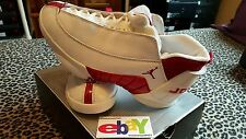 Nike Air Jordan XV 15 Low OG MOC SL 2000 WHITE/DEEP RED 136035 161