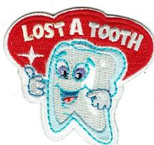 Girl Boy Cub LOST A TOOTH Daisy Fun Patches Crest Badges SCOUT GUIDE first teeth
