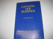 Counting our blessings: Weekly Sabbath sermons by Louis J Swichkow