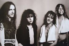 """METALLICA """"YOUNG BAND SHOT WITH CLIFF BURTON"""" POSTER FROM ASIA-Heavy Metal Music"""