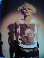 Kate Moss Iggy Pop t shirt 2003 25 x 20cm Page From Music Book Ideal to Frame?