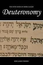 The Holy Bible, King James Version Ser.: Deuteronomy (KJV) by Sunlight...