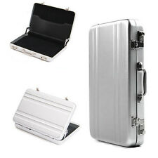 Password Briefcase Business ID Credit Card Holder Case Box Wallet Aluminum Metal