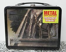 NIGHTMARE BEFORE CHRISTMAS LUNCH BOX & Metal Drink Container NECA 2000 LE NEW
