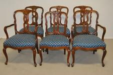 Set of Six (6) Cherry  Provincial Dining Chairs Attributed to Widdicomb