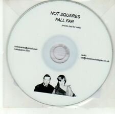 (DD504) Not Squares, Fall Far - 2012 DJ CD