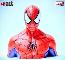 SEMIC MARVEL COMICS SPIDER MAN UOMO RAGNO BUST COIN BANK SALVADANIO NEW!