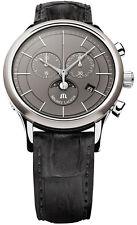 NEW Maurice Lacroix Watch Les Classiques Chronograph Phase de Lune Grey Dial