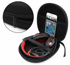 Headphone Earphone Headset Carrying Hard Case Bag Pouch Storage Holder For Sony