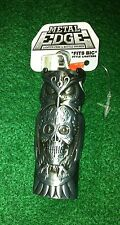 Metal Edge Owl with Skull Bottle Opener Bic Lighter Case Cover New