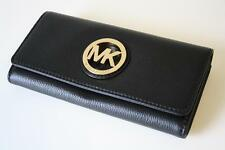 MICHAEL KORS Purse/Leather Purse black/black Fulton