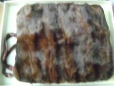 Vintage genuine  sable fur hand muff  stole shawl coat Jacket