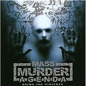 Mass Murder Agenda : Bring The Violence CD (2012)