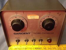 Vintage E.H. Sargent & Company - Thermo-Controller - S-81995 - Powers On - VGC