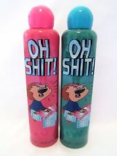 Oh Sh*t Bingo Daubers Markers Set Of Two 4 ounce Ink Pink And Teal