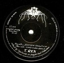 T.REX Jeepster Vinyl Record 7 Inch Fly BUG 16 1971