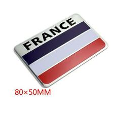 1X Car 3D Aluminum France Flag Car Sticker For Peugeot VW Chevrolet for Ford