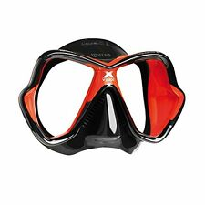 Mares Mask X-Vision Ultra LS Diving Googles - Red/Black/Red Black