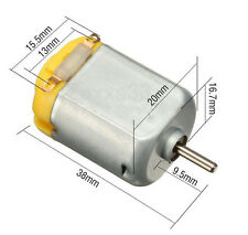 R130 motor Type 130 Hobby micro motors 11000 RPM 3-6V DC 0.35-0.4A (UK Seller)