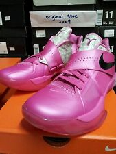 Nike Air Zoom KD IV Aunt Pearl(US 8) BHM 4 Galaxy All Star Weatherman DS pink