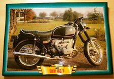 BMW R60/7 R60 /7 1977 CLASSIC MOTORCYCLE BIKE PICTURE PRINT 1970'S