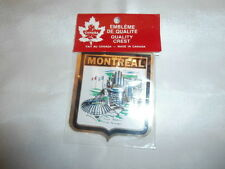 Vintage Montreal Travel Souvenir Decal