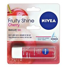 NIVEA Lip Balm Lipstick Gloss Long Lasting Moisture Fruity Shine Cherry 4.8g