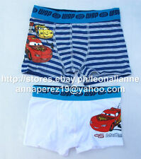 74% OFF! LICENSED DISNEY CARS MC QUEEN 2PK BOXER SHORTS 4-5 YRS BNEW DKK 79.95