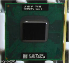 Intel Core 2 Duo T7500 SLA44 SLAF8 2.2 GHZ 4MB 800MHZ Socket P Processor