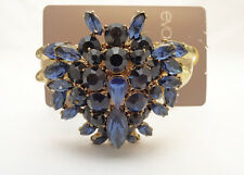 New Eva Mendes Stretch Bracelet with Deep Blue Rhinestones from NY & Co. #EVA3