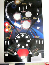 Vintage 1980's Classic Tomy Astro Shooter Pinball Space Background Repair Part